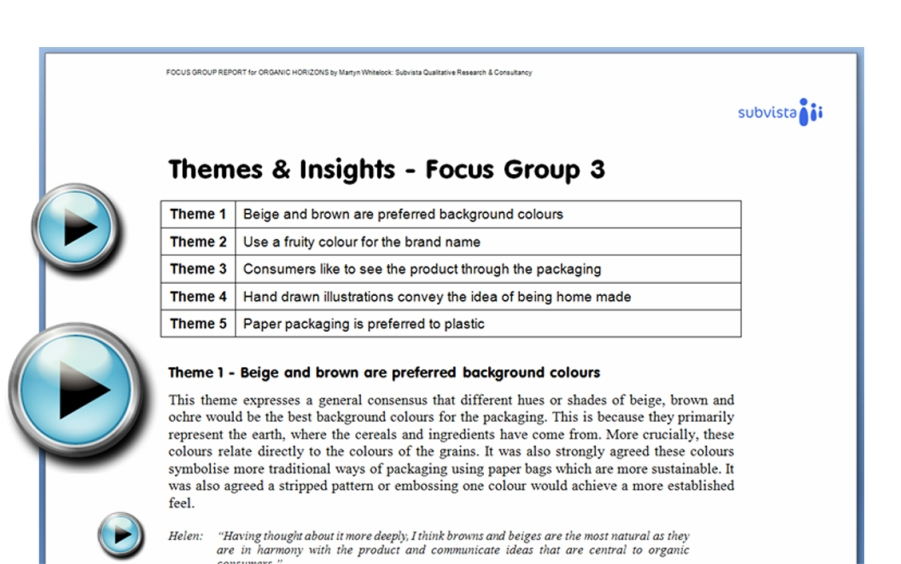 themes in qualitative research pdf